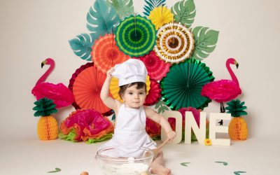 Erin's tropical Cakesmash Photoshoot