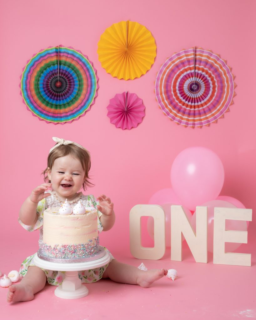 1st Birthday Cakesmash Photoshoot