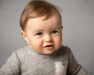 smiling baby during baby photography session