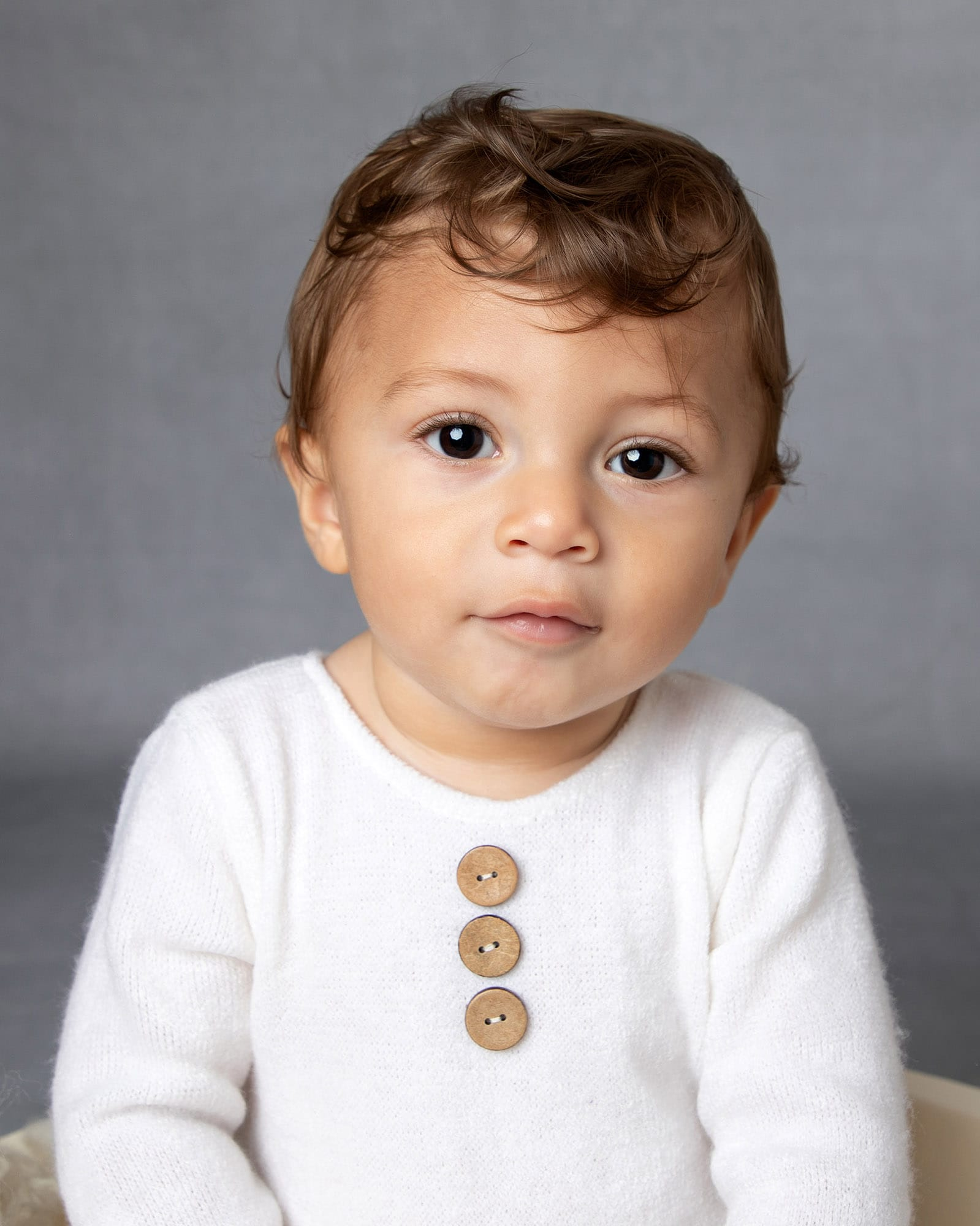 Baby boy portrait at baby photography session